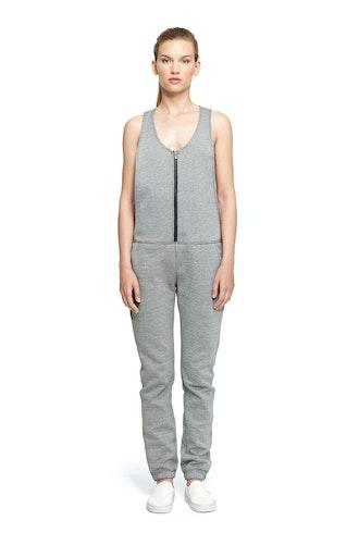 Onepiece Sound Jumpsuit Grey Melange