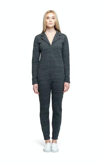 Onepiece Suit Jumpsuit Black Melange