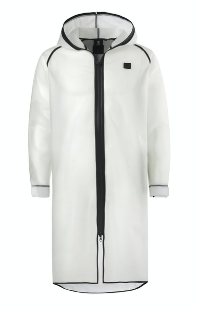 Influence Rain Jacket Transparent blanc