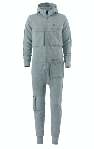 Distance Jumpsuit Gris Chiné