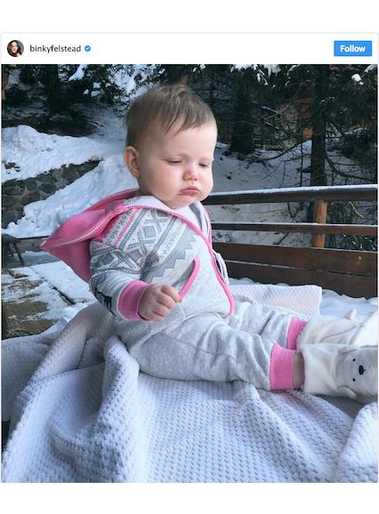 Onepiece Marius Baby Jumpsuit Schneeweiß Meliert