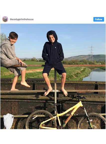 Onepiece Kids Towel Jumpsuit Grey
