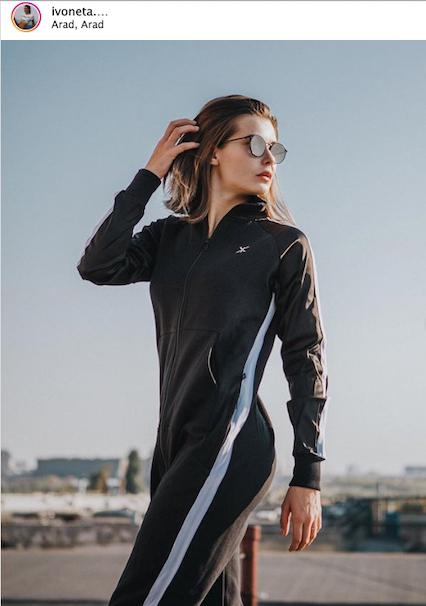 Onepiece Chill Jumpsuit Noir
