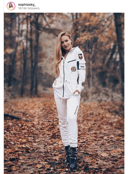 Onepiece The AstroNOT Jumpsuit White
