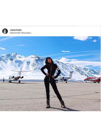 Onepiece Alps Soft Velvet Jumpsuit Black