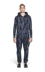 Onepiece Abyss Jumpsuit Ebony Printed