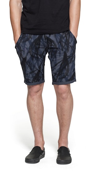 Onepiece Abyss Shorts Ebony Printed