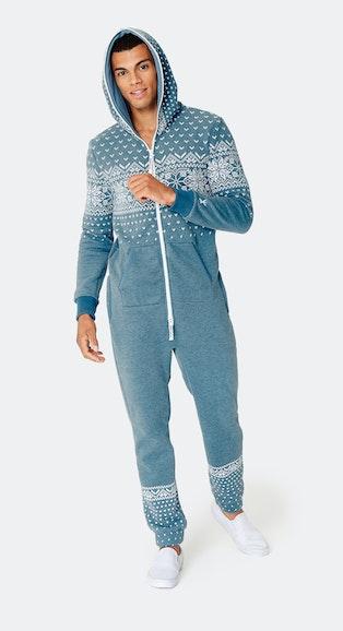 Onepiece Alpine 2.0 Jumpsuit Faded Blue Mel