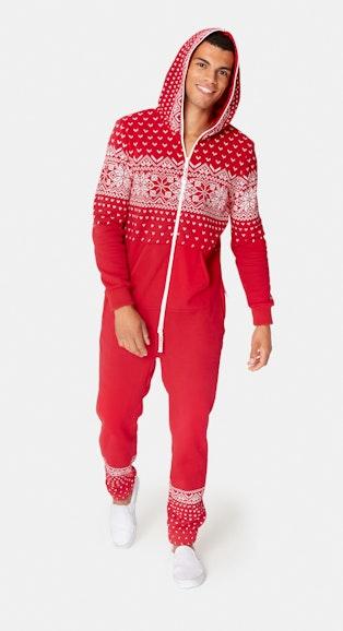 Onepiece Alpine Jumpsuit Rot