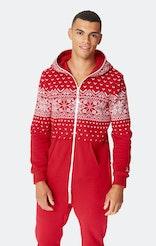 Onepiece Alpine Jumpsuit Red