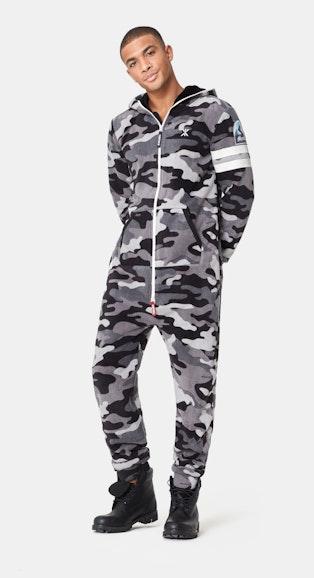 Onepiece Alps Camo 2.0 Jumpsuit Black