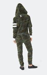 Onepiece Alps Camo Fleece Jumpsuit Army