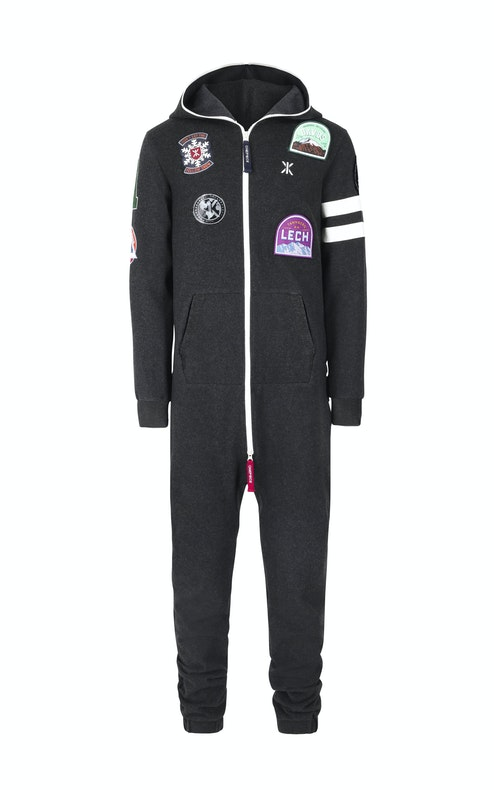 Onepiece Alps Patch Jumpsuit 2.0 Dark Grey