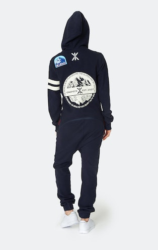 Onepiece Alps Patch Jumpsuit Navy