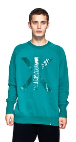 Onepiece Andre College Sweater Green
