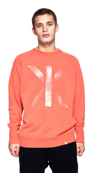 Onepiece Andre College Sweater Hot Coral