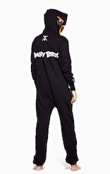 Onepiece Angry Birds Onesie Black