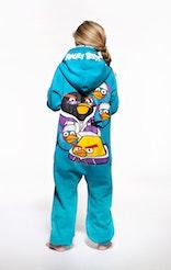 Onepiece Angry Birds Onesie Light Blue