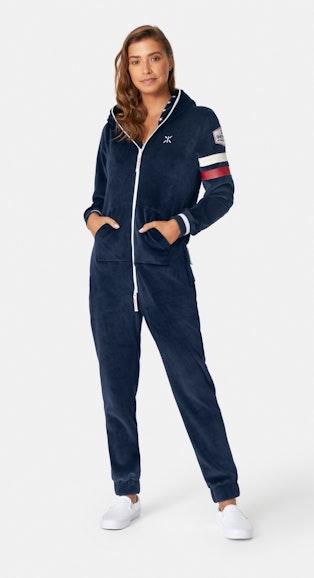 Onepiece Après-ski Star Jumpsuit Navy
