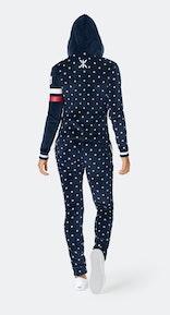 Onepiece Après-ski Star Slim Jumpsuit Navy