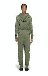 Onepiece Army Jumpsuit Military Green