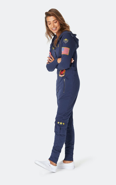 Onepiece Aviator Onesie Bleu Nuit