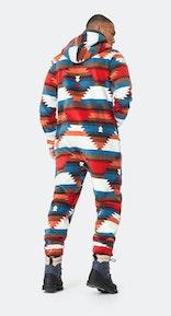 Onepiece Aztec Fleece Jumpsuit Multi