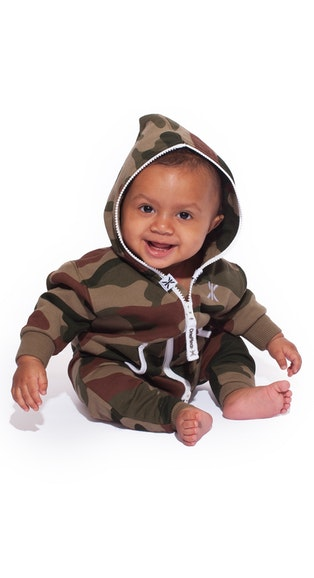 Onepiece Baby Jumpsuit Camo