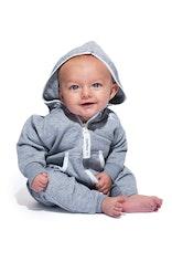 Onepiece Baby Jumpsuit Grey Melange