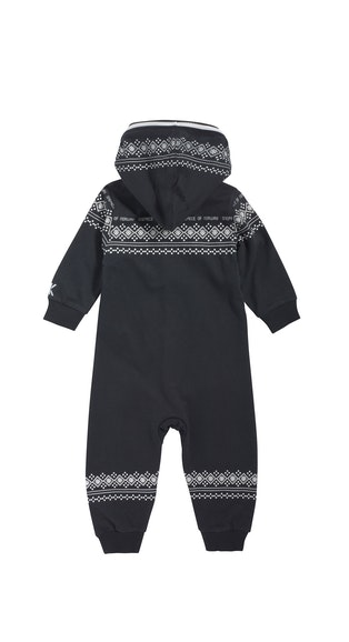 Onepiece Baby Jumpsuit Lusekofte Navy / White