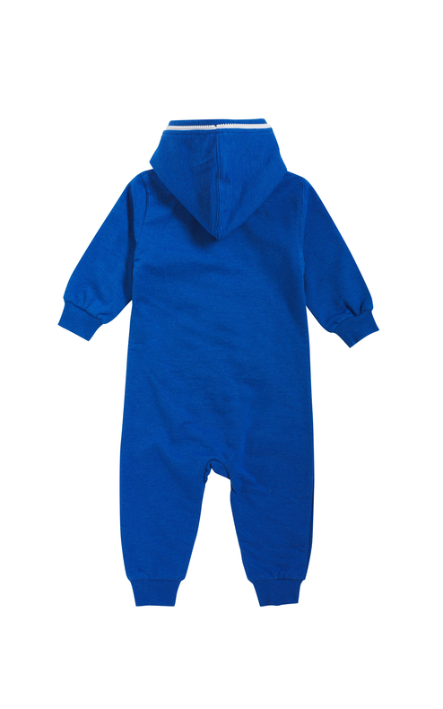 Onepiece Baby Jumpsuit Strong Blue Melange