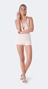 Onepiece Bamboo Bodysuit Soft Pink