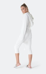 Onepiece Bamboo Womens Jumpsuit Blanc