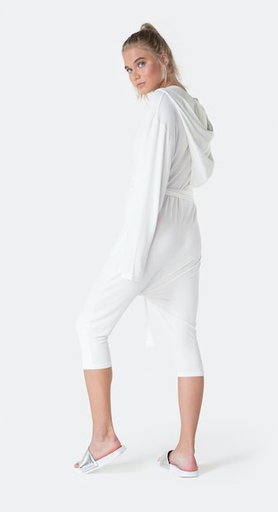 Onepiece Bamboo Womens Jumpsuit Weiß