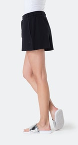Onepiece Bamboo Shorts Black