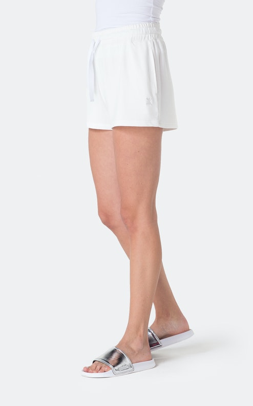 Onepiece Bamboo Shorts White