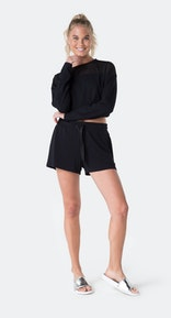 Onepiece Bamboo Sweater Black