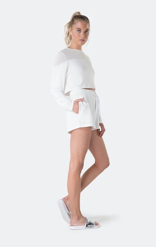 Onepiece Bamboo Sweater White