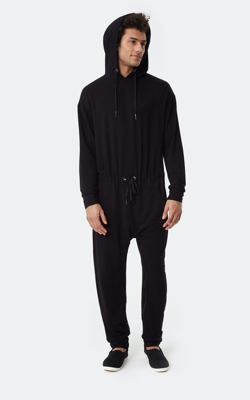 Onepiece Supersoft Bamboo Jumpsuit Black