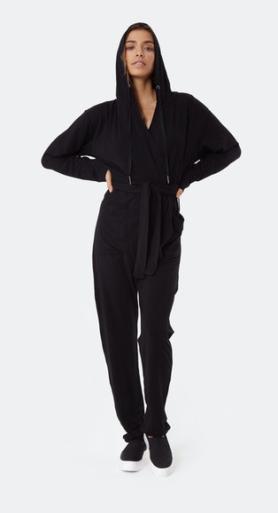 Onepiece Supersoft Bamboo Womens Jumpsuit Black