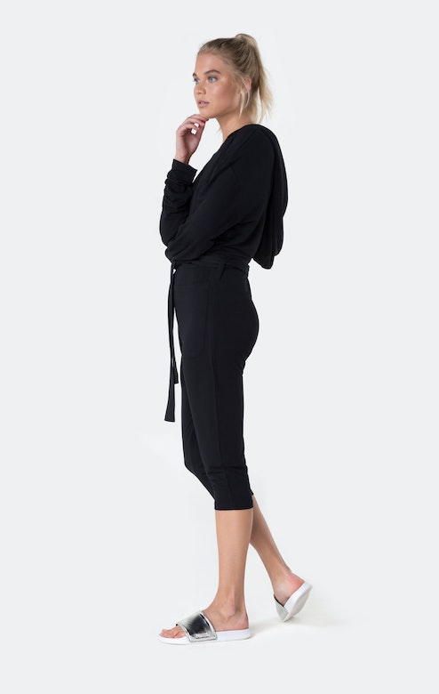 Onepiece Bamboo Womens Jumpsuit Black