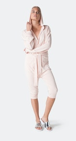 Onepiece Bamboo Womens Jumpsuit Soft Pink
