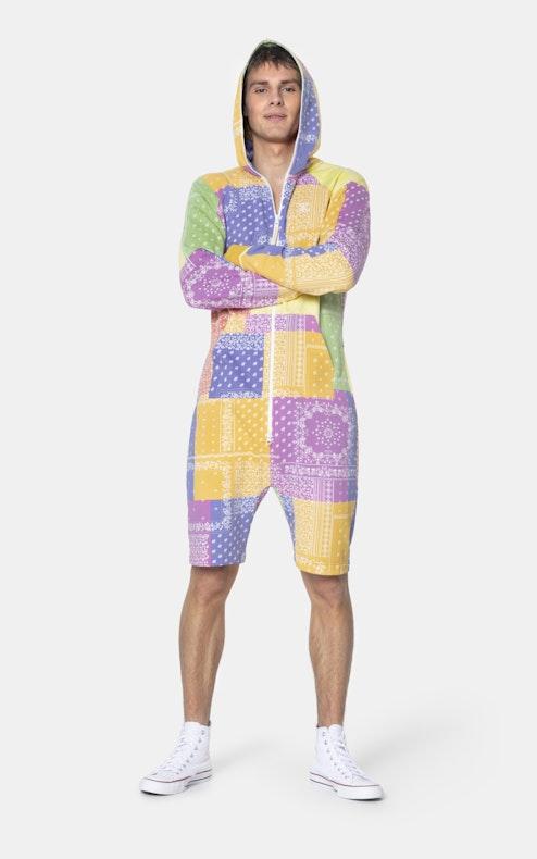 Onepiece Bandana Pride short jumpsuit Multi