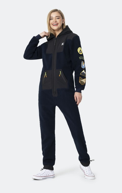 Onepiece Base Camp Jumpsuit Navy