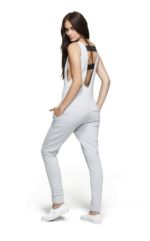 Onepiece Bay Jumpsuit Light Grey