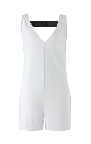 Onepiece Bay Short Jumpsuit Light Grey