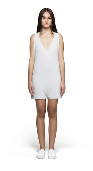 Onepiece Bay Short Jumpsuit Light Grey