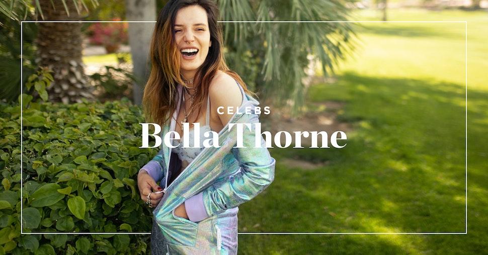 Bella Thorne en Onepiece à Coachella
