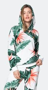 Onepiece Beverly Hills hoodie Blanc cassé
