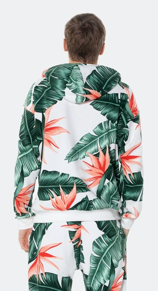 Onepiece Beverly Hills hoodie Off White print